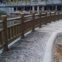 四川馳升水泥仿木欄桿