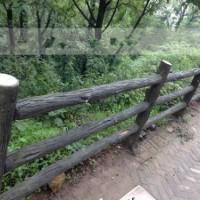 四川馳升水泥仿木護欄 仿木欄桿