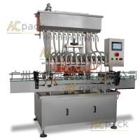 廣州華川HCCY-12十二頭常壓式全自動液體灌裝機