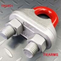 鋼絲繩夾(*鍛造)TRARMS