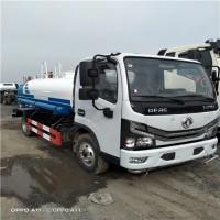 山東廠家生產工地5噸小型灑水車國六東風多利卡D6小型噴灑車