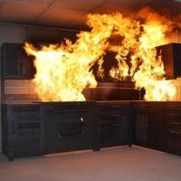 真火模擬廚房火災訓練設施