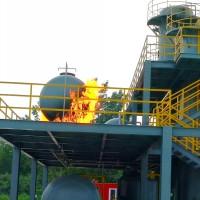 化工平台真火模拟设备 化工装置真火火灾训练设施