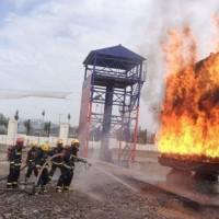 火幕墙真火设施 真火模拟训练