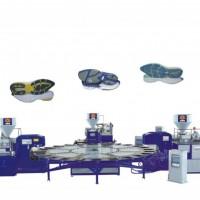 HM-108-3C 24模位三色圆盘式塑胶鞋类射出成型机