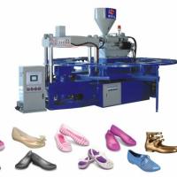 HM-528全自動單色水晶網鞋成型機(三角模)