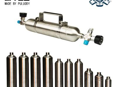 一次旋壓成型乙烯丙烯采樣鋼瓶