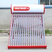 18管真空管太阳能热水器家用屋顶式非承压不锈钢太阳能